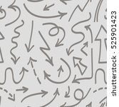 vector seamless pattern with... | Shutterstock .eps vector #525901423