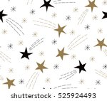 seamless pattern of flying... | Shutterstock .eps vector #525924493