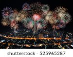 new year celebrate  big... | Shutterstock . vector #525965287