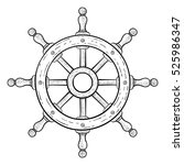 Steering Wheel For Ships And...
