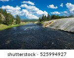 Firehole River In Midway Geyse...