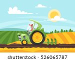 vector cartoon style... | Shutterstock .eps vector #526065787