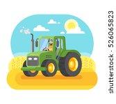 vector flat style illustration... | Shutterstock .eps vector #526065823