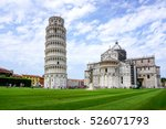 leaning tower of pisa in...