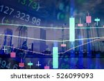 forex market background ... | Shutterstock . vector #526099093