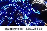 Blue Bokeh. Abstract Backgroun...