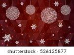 light red christmas postcard...