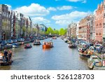amsterdam april 27  view of ...   Shutterstock . vector #526128703