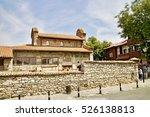 old nesebar  bulgaria   aug 10  ... | Shutterstock . vector #526138813