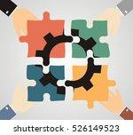 illustration of businessman... | Shutterstock .eps vector #526149523