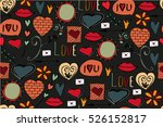 Seamless Pattern With Love...
