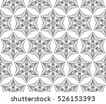 abstract raster copy seamless... | Shutterstock . vector #526153393