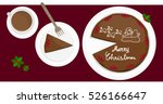 illustration vector of cake... | Shutterstock .eps vector #526166647