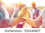 building  teamwork  partnership ... | Shutterstock . vector #526166827