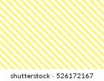 Yellow Stripes On White...