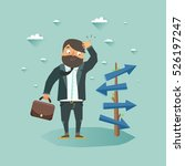 possibilities for business... | Shutterstock .eps vector #526197247