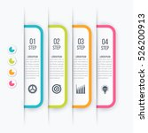 modern infographics options... | Shutterstock .eps vector #526200913
