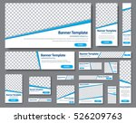 set of web banners of different ... | Shutterstock .eps vector #526209763