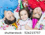 group of kids in party | Shutterstock . vector #526215757