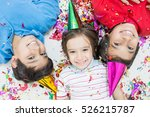 group of kids in party | Shutterstock . vector #526215787