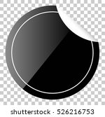 black circle tag or label with...   Shutterstock .eps vector #526216753