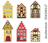 Vector Icons Set Of 6 European...