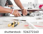 technician design and... | Shutterstock . vector #526272163