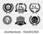 halal  vector | Shutterstock .eps vector #526301503