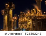 natural gas combined cycle... | Shutterstock . vector #526303243