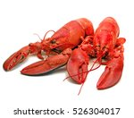 Twin Steamed Lobsters.  The...