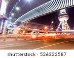under the pedestrian bridge of... | Shutterstock . vector #526322587