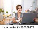 online shopping is so convenient | Shutterstock . vector #526328977