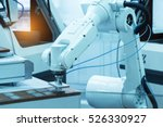 microchip production factory.... | Shutterstock . vector #526330927