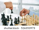 close up image of men playing...   Shutterstock . vector #526353973
