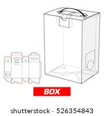box with handle   Shutterstock .eps vector #526354843