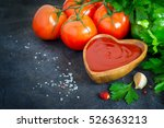 Tomato Ketchup Sauce With...