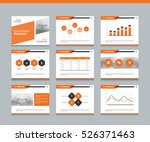 page layout design template for ... | Shutterstock .eps vector #526371463