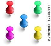 vector illustration of a set of ... | Shutterstock .eps vector #526387957