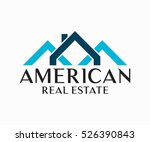 real estate  building ... | Shutterstock .eps vector #526390843