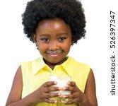 close up portrait of little... | Shutterstock . vector #526397347