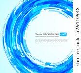 abstract retro technology... | Shutterstock .eps vector #526410943