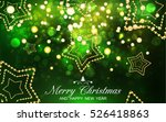 merry christmas and happy new... | Shutterstock .eps vector #526418863