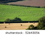 England Countryside During...