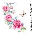 Rosebush. Pattern From Pink...