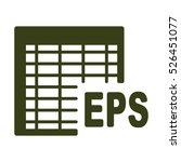 document icon  flat design style | Shutterstock .eps vector #526451077
