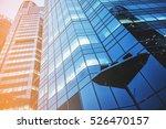 modern skyscrapers in a... | Shutterstock . vector #526470157