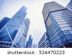modern skyscrapers in a... | Shutterstock . vector #526470223