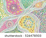 color pattern of lines | Shutterstock .eps vector #526478503