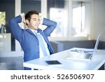 shot of a satisfied young... | Shutterstock . vector #526506907