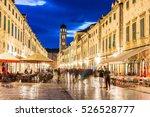 Walking Street In Dubrovnik In...